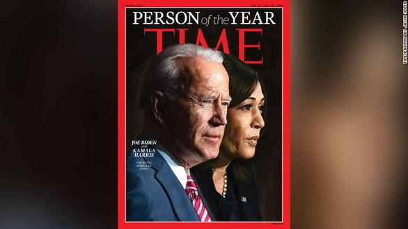 Ông Biden và bà Harris là Nhân vật năm 2020 của tạp chí Time - Ảnh 2.
