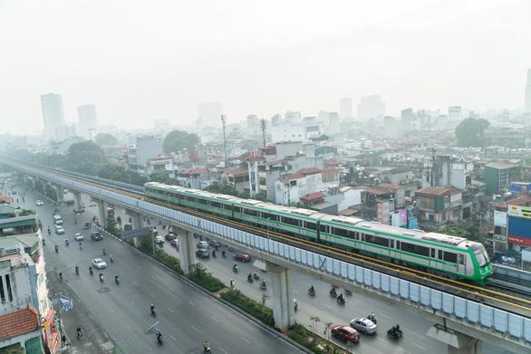Hôm nay, chạy thử toàn hệ thống đường sắt Cát Linh - Hà Đông - Ảnh 1.