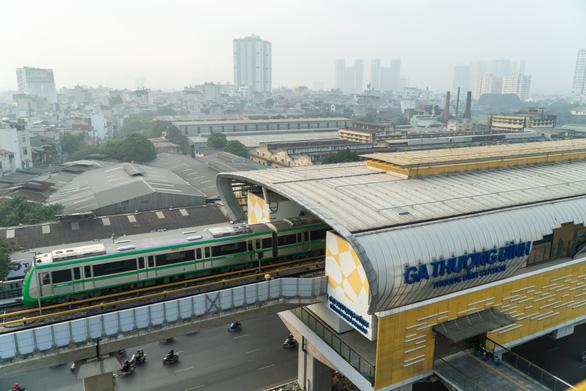 Hôm nay, chạy thử toàn hệ thống đường sắt Cát Linh - Hà Đông - Ảnh 4.
