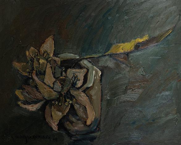 Họa sĩ Hà Hùng Dũng mang 'Của để dành' đi triển lãm, đấu giá từ thiện - Ảnh 3.