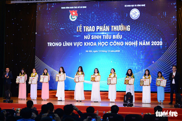 10 thanh niên làm khoa học xuất sắc nhận giải thưởng Quả cầu vàng năm 2020 - Ảnh 2.