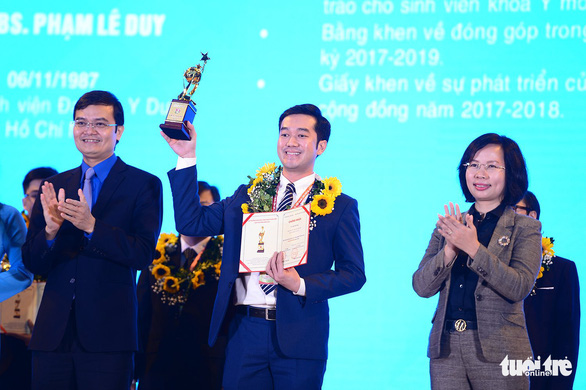 10 thanh niên làm khoa học xuất sắc nhận giải thưởng Quả cầu vàng năm 2020 - Ảnh 1.