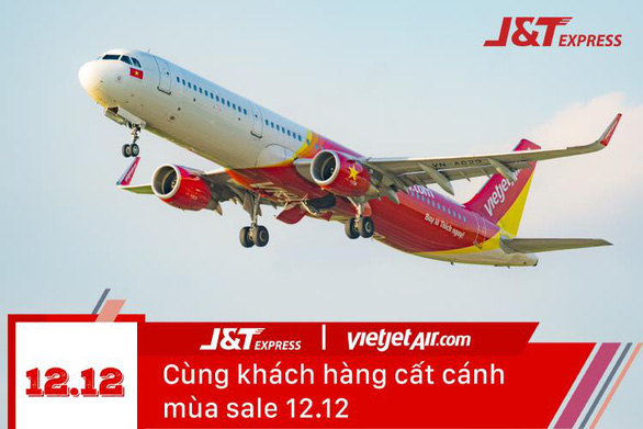 Siêu sale 12-12, J&T Express giao hàng nhanh như bay - Ảnh 1.