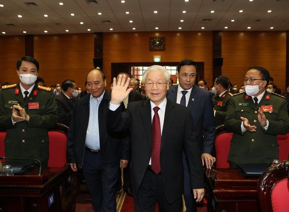 Tổng bí thư, Chủ tịch nước Nguyễn Phú Trọng chủ trì hội nghị tổng kết chống tham nhũng - Ảnh 1.