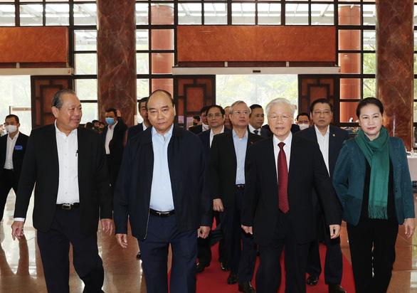 Tổng bí thư, Chủ tịch nước Nguyễn Phú Trọng chủ trì hội nghị tổng kết chống tham nhũng - Ảnh 4.
