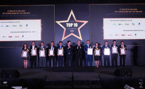 Hướng tới Việt Nam số: VNPT được vinh danh nhiều hạng mục top 10 doanh nghiệp CNTT 2020 - Ảnh 2.