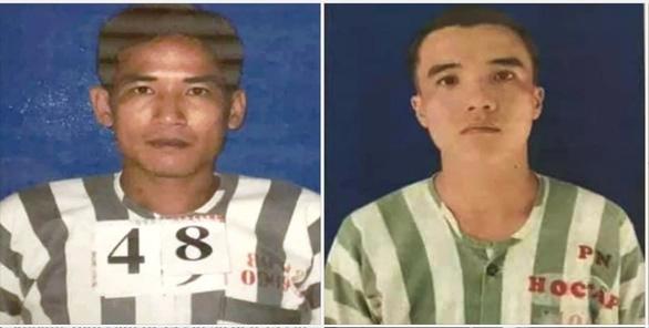 Truy tìm 2 phạm nhân đang thụ án tội giết người trốn khỏi trại giam Cây Cầy - Ảnh 1.