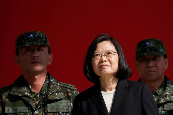 Lãnh đạo Đài Loan Thái Anh Văn tự tin có thể bán vũ khí cho phương Tây - Ảnh 1.
