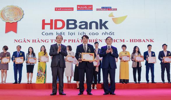 HDBank nhận giải Ngân hàng bán lẻ và SME hàng đầu - Ảnh 1.
