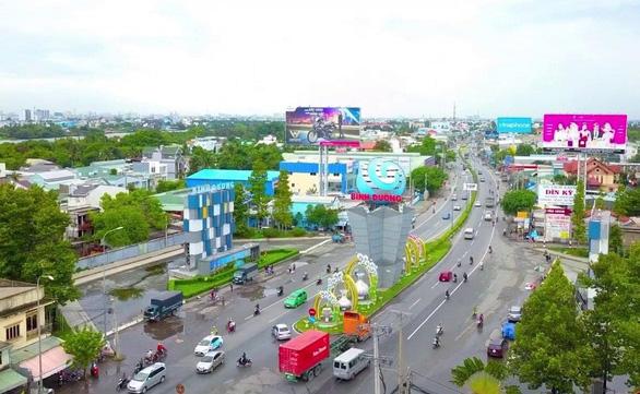 Triển khai trục đại lộ kinh tế, tài chính, dịch vụ tại Thuận An - Ảnh 1.