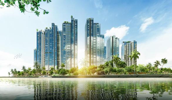 Khu Nam TP.HCM xuất hiện ốc đảo xanh với quy mô 9 tòa tháp - Ảnh 1.