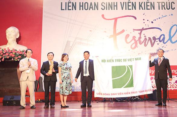 ĐH Duy Tân giành nhiều giải thưởng tại Festival Kiến trúc 2020 - Ảnh 3.