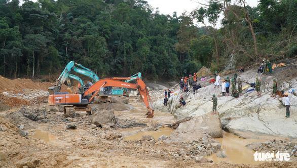 Dự kiến mùa khô 2021 tiếp tục tìm người mất tích ở thủy điện Rào Trăng 3 - Ảnh 2.