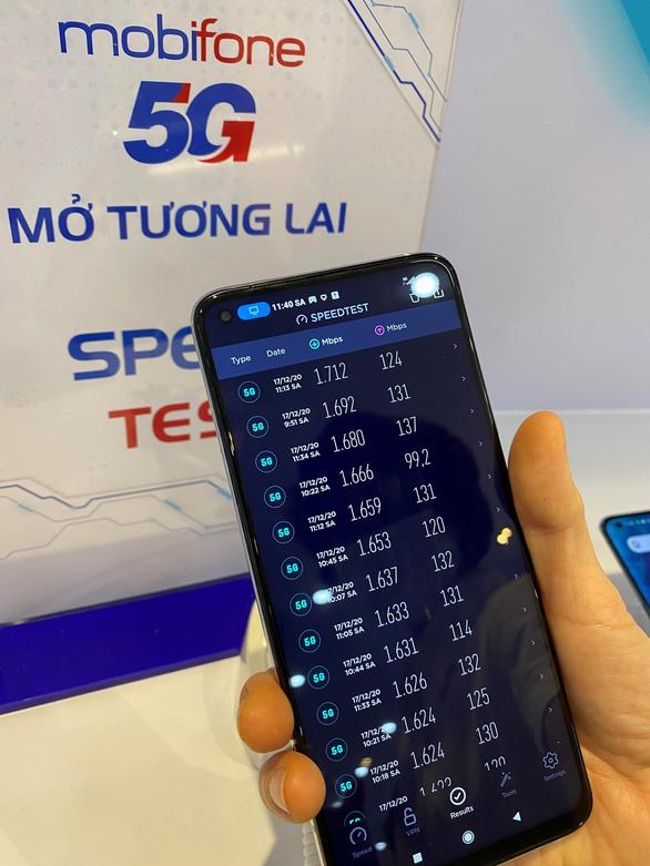 Tốc độ download mạng 5G MobiFone: lập đỉnh với hơn 1,7Gbps - Ảnh 2.