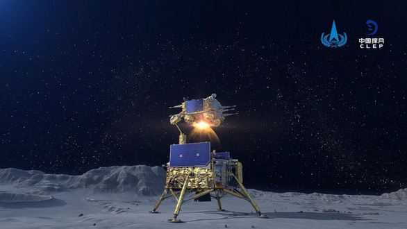 Tàu khám phá Mặt Trăng của Trung Quốc trở về mang theo 2kg đá - Ảnh 5.