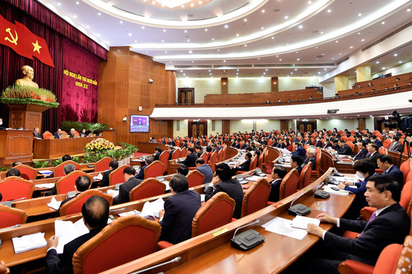 Nhất trí cao nhân sự tham gia Bộ Chính trị, Ban Bí thư khóa XIII - Ảnh 1.