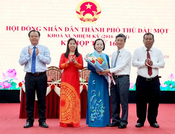 Bà Nguyễn Thu Cúc làm chủ tịch UBND TP Thủ Dầu Một - Ảnh 1.