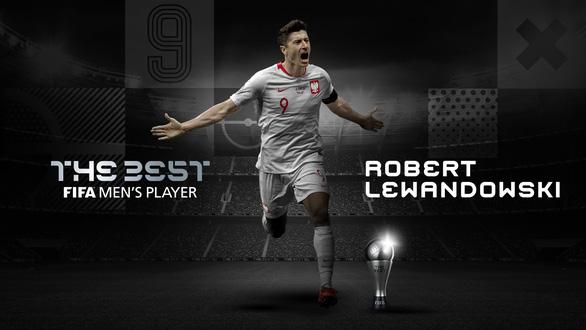 Đánh bại Messi và Ronaldo, Lewandowski giành giải FIFA The Best - Ảnh 1.