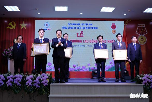 EVNCPC đón nhận Huân chương Lao động hạng Nhất - Ảnh 2.