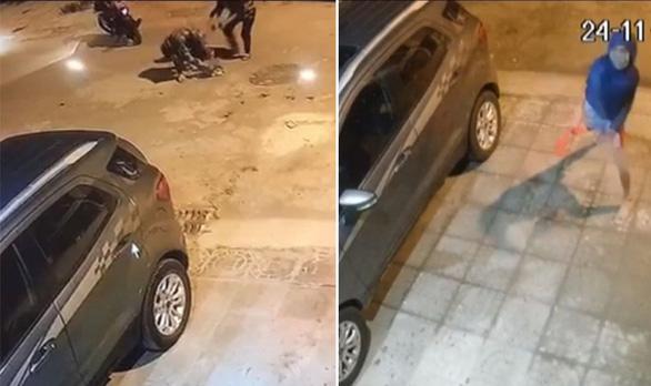 Xác định 3 nghi phạm liên tục nửa đêm ném chất bẩn vào nhà phóng viên - Ảnh 2.