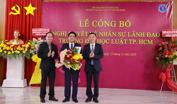 PGS.TS Trần Hoàng Hải làm quyền hiệu Trưởng ĐH Luật TP.HCM - Ảnh 1.