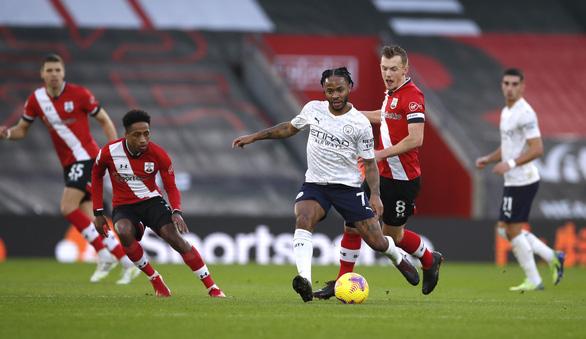 Sterling tỏa sáng, Man City tìm lại niềm vui chiến thắng trước Southampton - Ảnh 1.
