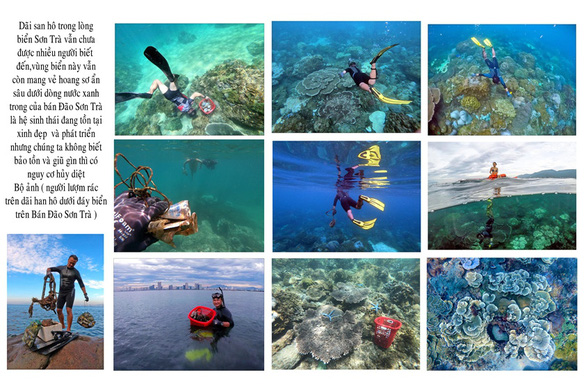 Người lượm rác dưới biển thắng giải ảnh môi trường - Ảnh 2.