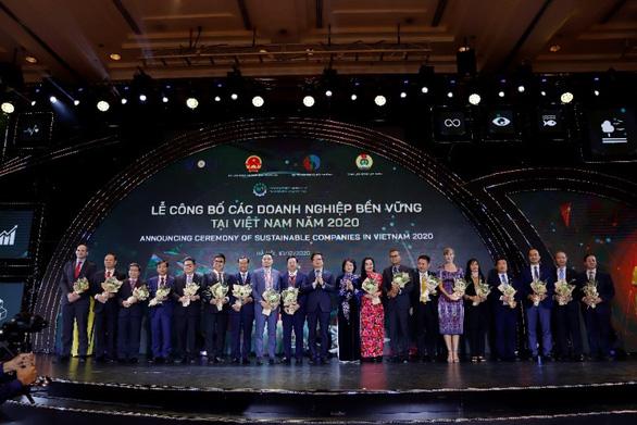 Vinamilk dẫn đầu top các doanh nghiệp bền vững Việt Nam năm 2020 - Ảnh 1.