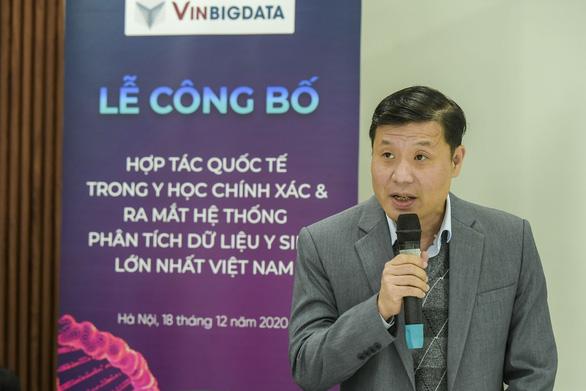 Vingroup ra mắt hệ thống quản lý dữ liệu y sinh hàng đầu Việt Nam - Ảnh 3.