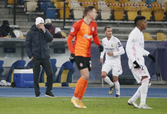 Thua Shakhtar Donetsk, Zidane vẫn nói không từ chức - Ảnh 1.