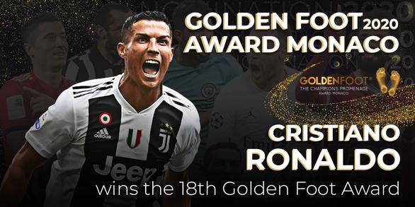 Điểm tin thể thao tối 2-12: Ronaldo thắng Messi đoạt giải Bàn chân vàng năm 2020 - Ảnh 1.