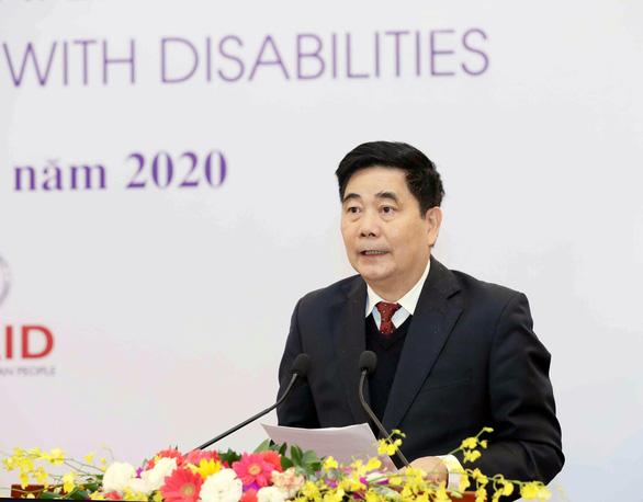 Phát triển dịch vụ xã hội, đảm bảo an sinh xã hội đối với người khuyết tật - Ảnh 1.