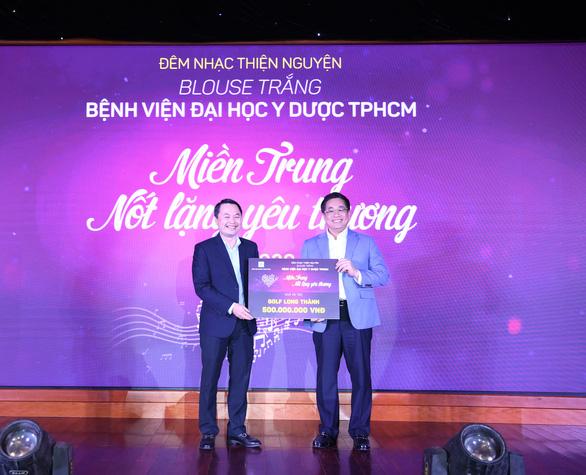 Golf Long Thành ủng hộ 500 triệu đồng cho đêm nhạc thiện nguyện hướng về miền Trung - Ảnh 2.