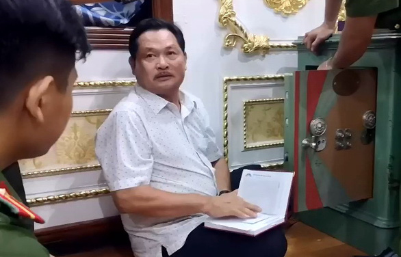 Con trai của đại gia có biệt thự dát vàng ở Bà Rịa - Vũng Tàu cũng bị bắt - Ảnh 3.