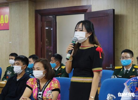 Mỗi thanh niên dân tộc là đại sứ vận động không xuất nhập cảnh trái phép - Ảnh 2.