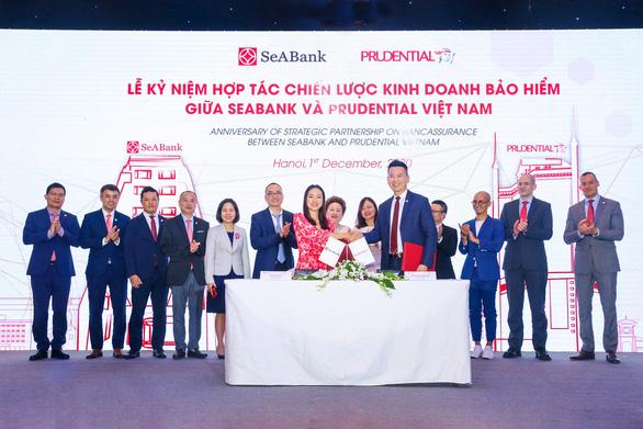 Prudential và SeABank gia tăng trải nghiệm khách hàng bằng sản phẩm bảo hiểm số - Ảnh 1.
