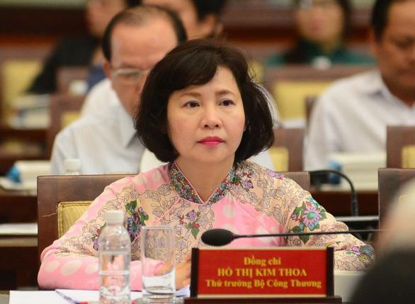 Khai trừ khỏi Đảng cựu thứ trưởng Bộ Công thương Hồ Thị Kim Thoa - Ảnh 1.