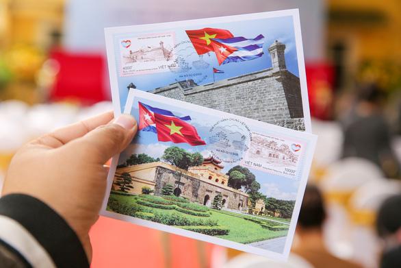 Việt Nam và Cuba phát hành chung bộ tem đặc biệt - Ảnh 2.
