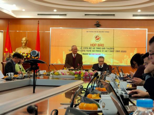 50 sản phẩm nhận giải thưởng Sản phẩm công nghệ số Make in Viet Nam - Ảnh 1.