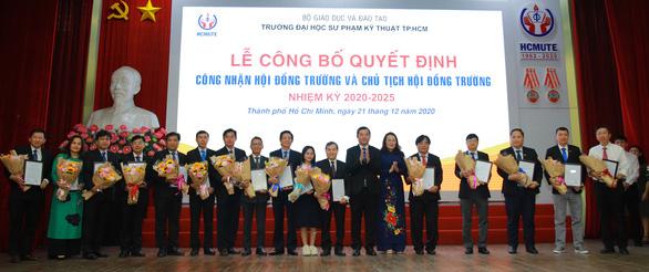 Bí thư Phú Yên tham gia hội đồng Trường ĐH Sư phạm kỹ thuật TP.HCM - Ảnh 1.