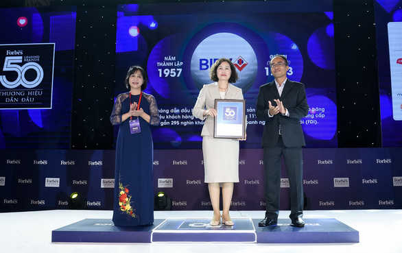 BIDV vào top 50 thương hiệu dẫn đầu 2020 - Ảnh 1.