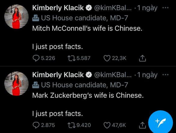 Chính khách Mỹ bị chỉ trích vì nói vợ Mark Zuckerberg là người Trung Quốc - Ảnh 1.