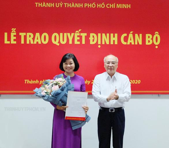 Bà Lý Việt Trung làm tổng biên tập báo Phụ nữ TP.HCM - Ảnh 1.