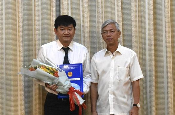 Tổng công ty Cấp nước Sài Gòn có tân giám đốc - Ảnh 1.