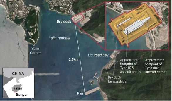 Trung Quốc xây ụ khô tàu lớn phục vụ tàu sân bay Type 002? - Ảnh 1.