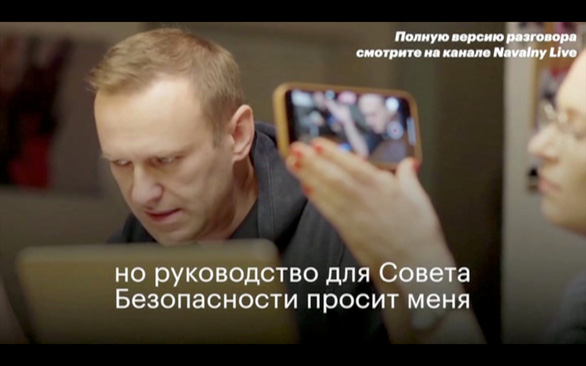Nga bác tin đặc vụ FSB thú nhận tẩm độc lên quần lót ông Navalny - Ảnh 1.