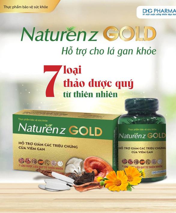 Naturenz Gold - Bí quyết vàng hỗ trợ giảm viêm gan hiệu quả - Ảnh 1.