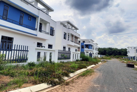 Một doanh nghiệp xây trái phép khu đô thị thông minh hoành tráng 488 căn nhà - Ảnh 3.
