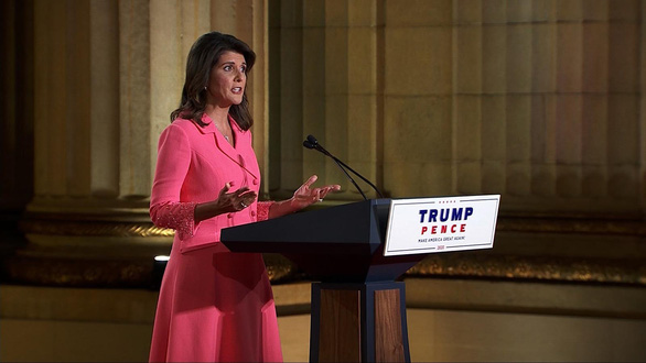 Bà Nikki Haley: Trung Quốc muốn đánh đổ Mỹ và gần như đã làm được bằng COVID-19 - Ảnh 1.