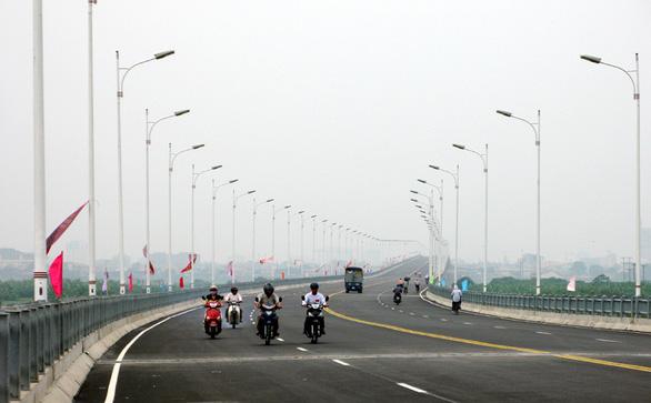 Hà Nội sẽ có thêm 10 cầu vượt sông Hồng - Ảnh 1.